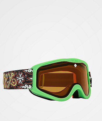 Spy Kid's Cadet Dirty Hog HD Persimmon Snowboard Goggles