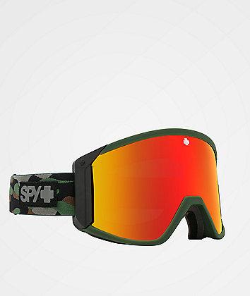 Spy Raider Camo & Bronze HD Snowboard Goggles