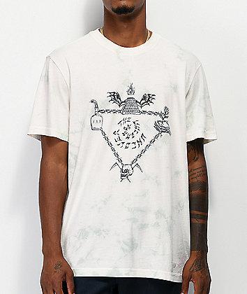 Stance Altastock White Tie Dye T-Shirt