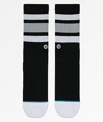 Stance Boyd 4 Black Crew Socks