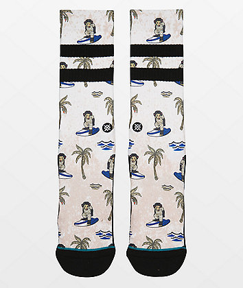 Stance Surfing Monkey Crew Socks