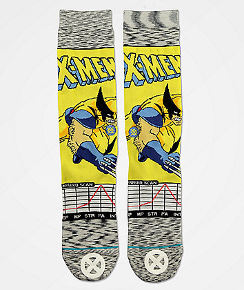Stance x X-Men Wolverine Comic Crew Socks