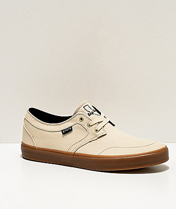 State Bishop Bay Area Cream & Gum Skate Shoes