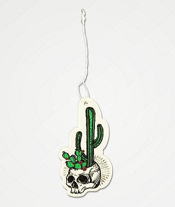 Stickie Bandits Cactus Skull Air Freshener