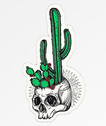Stickie Bandits Cactus Skull Sticker