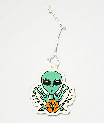 Stickie Bandits Peace Alien Air Freshener