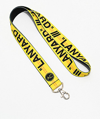 Stickie Bandits Yellow Lanyard
