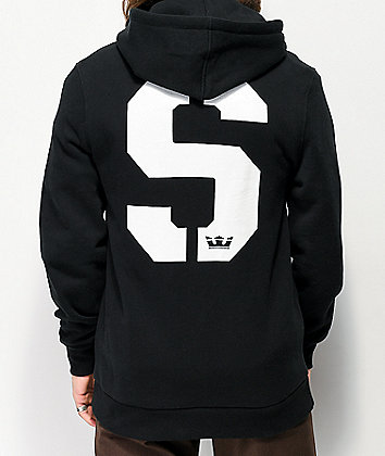 Supra Stencil Black Hoodie