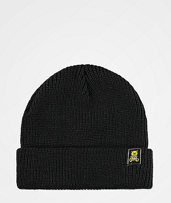 Teddy Fresh Ted Logo Black Beanie