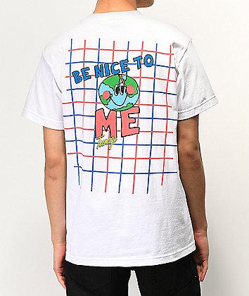 Teenage Be Nice White T-Shirt