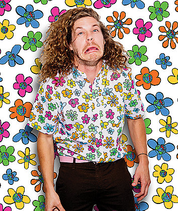 Teenage Flowers White Short Sleeve Button Up Shirt