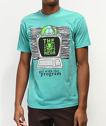 Teenage Get With The Program Green T-Shirt