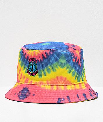 Teenage Nice Swirl Tie Dye Bucket Hat