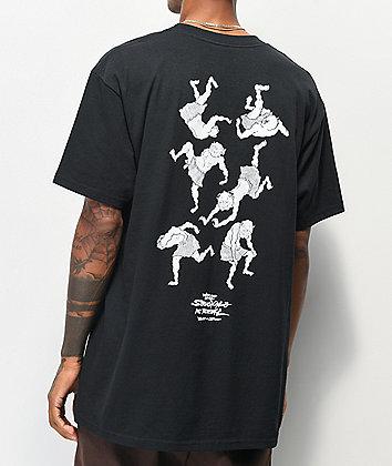 Temple Of Skate The Struggle Black T-Shirt