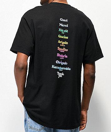Thank You Global Black T-Shirt