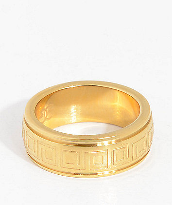The Gold Gods Barroco Gold Ring