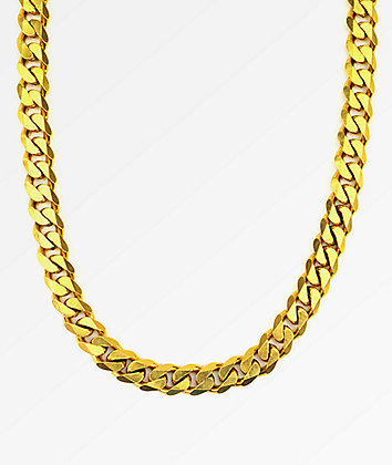 "The Gold Gods Flat Edge 30""  Cuban Link Necklace"