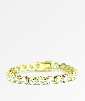 The Gold Gods Gold Buttercup Tennis Bracelet
