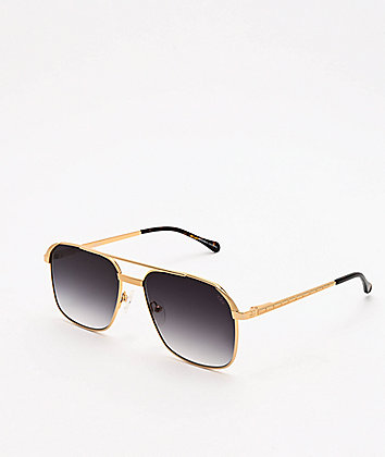 The Gold Gods The Hades Gold & Black Sunglasses