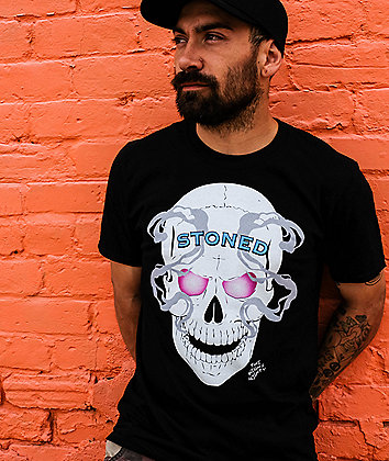 The High & Mighty Stoned Cold Black T-Shirt
