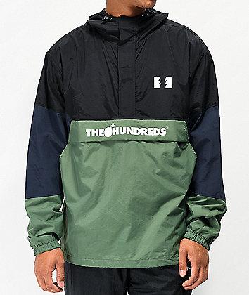 The Hundreds Landor Black Anorak Jacket