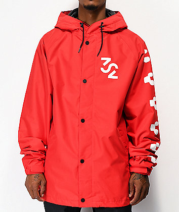 ThirtyTwo Grasser Red 10K Snowboard Jacket