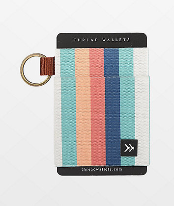 Thread Kora Rainbow Key Ring Wallet