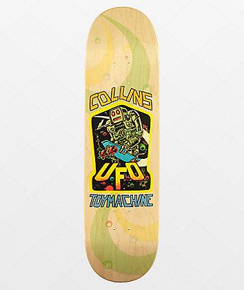 """Toy Machine Collins UFO 8.5"""" Skateboard Deck"""