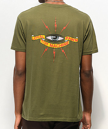 Toy Machine Loyal Military Green T-Shirt