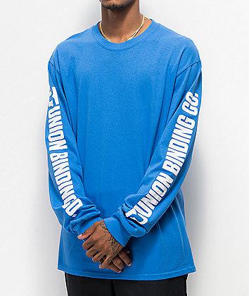 Union Blue Long Sleeve T-Shirt