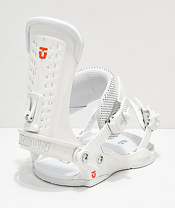 Union Force White Snowboard Bindings 2019