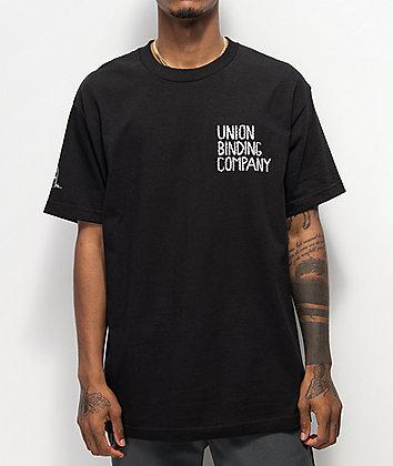 Union The Uninvited Black T-Shirt