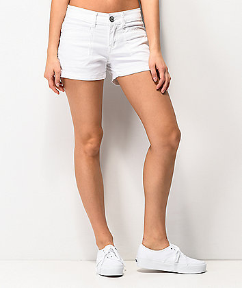Unionbay Delaney White Shorts