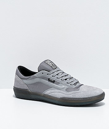 Vans A.V.E. Pro Reflective Grey & Grey Skate Shoes