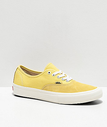 Vans Authentic Pro Pale Banana Skate Shoes