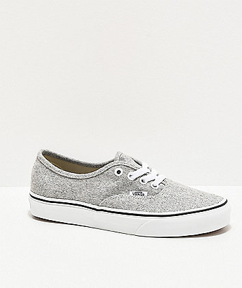 Vans Authentic White Asparagus Skate Shoes
