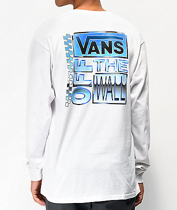 Vans Ave Chrome White Long Sleeve T-Shirt