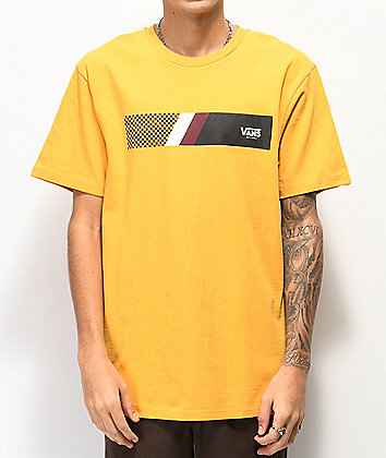 Vans Big Streak Yellow T-Shirt