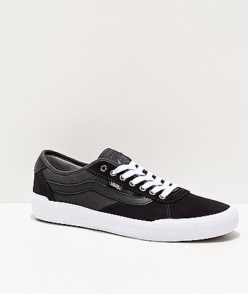 Vans Chima Pro 2 Obsidian & Drizzle Grey Skate Shoes