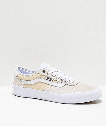 Vans Chima Pro 2 White Skate Shoes