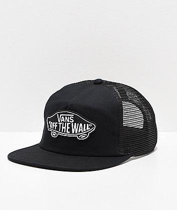 Vans Classic Patch Black & White Trucker Hat