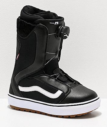 Vans Encore OG Black Snowboard Boots Women's 2020