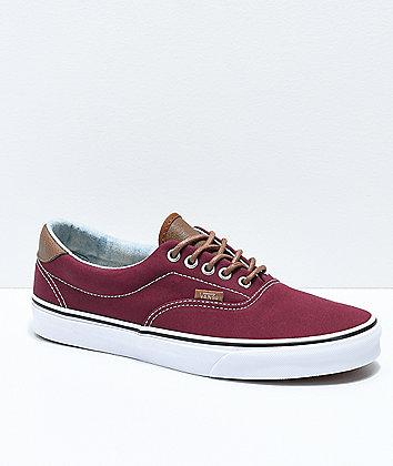 Vans Era 59 CL Port Royale & Blue Washed Skate Shoes