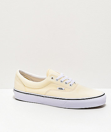 Vans Era Classic White & True White Skate Shoes