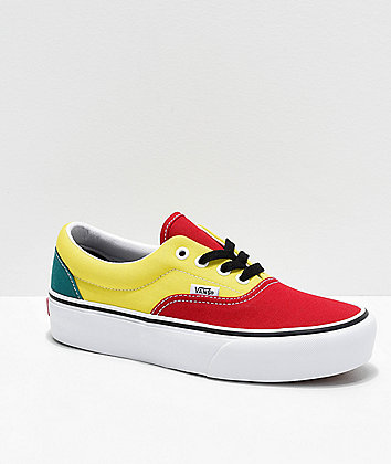 Vans Era Colorblock Platform Shoes