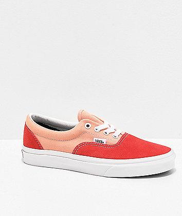 Vans Era Vintage Sport Pink Skate Shoes