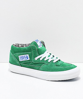 Vans Half Cab Pro Barbee Green Skate Shoes