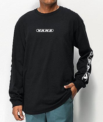Vans Kaleidoscope OTW Black Long Sleeve T-Shirt