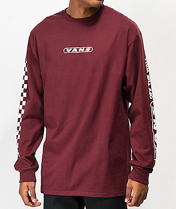 Vans Kaleidoscope Off The Wall Port Royale Long Sleeve T-Shirt