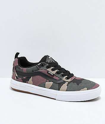 Vans Kyle Walker Pro Camo & Black Skate Shoes